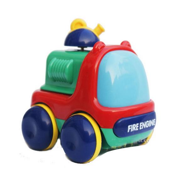 toyroyal皇室玩具迷你消防车tr719
