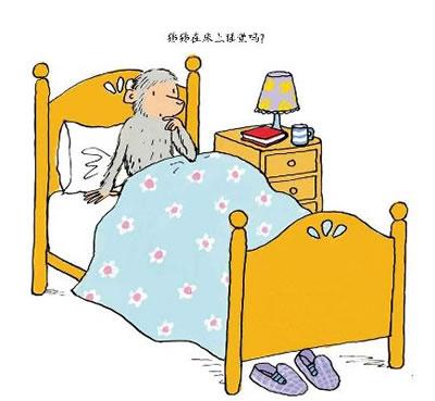 幼儿园睡觉房卡通图片