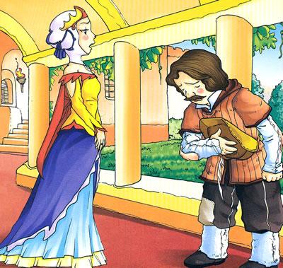 宝宝最喜爱的认读童话---白雪公主
