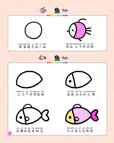 8   目录  《快乐学画画 可爱动物篇》  《快乐学画画 基础篇
