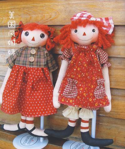 我的手工时间--亲手缝制的乡村风可爱布偶