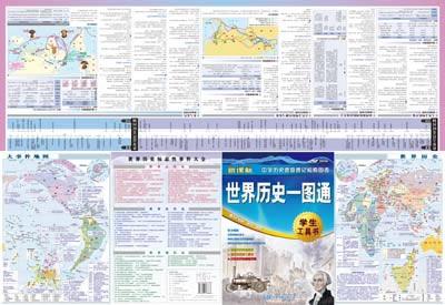超值套装组合,权威历史地图指南,中外历史时间轴对照,速查历史的检索图片