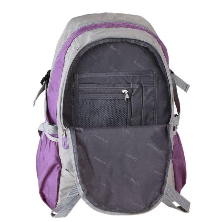 [当当自营] 威豹 双肩背包旅行包b1533-浅灰/粉紫图片