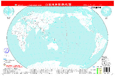 轮廓图●世界地图(填充地图)