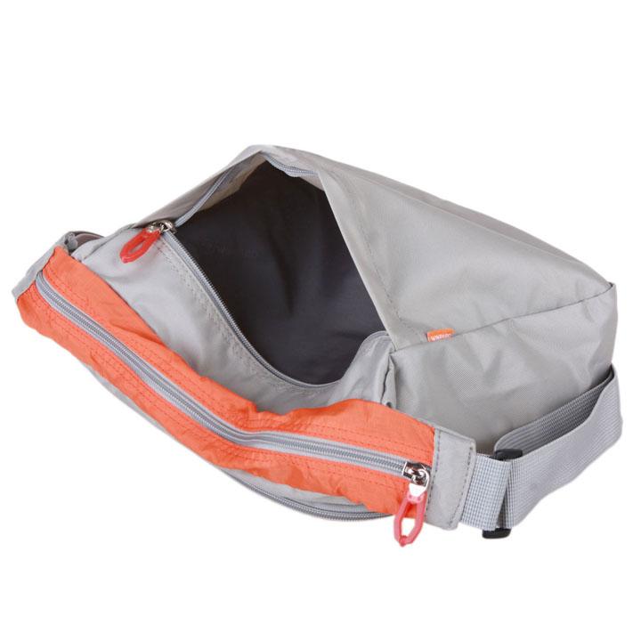 单肩斜挎包b3674-浅灰/橙