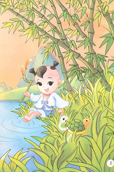 彩绘本 中国儿童文学故事精选 白蛇的故事 全新正版图书